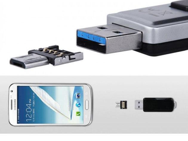 USB OTG adapter android készülékekhez - szinte bármilyen USB eszközt csatlakoztathatsz