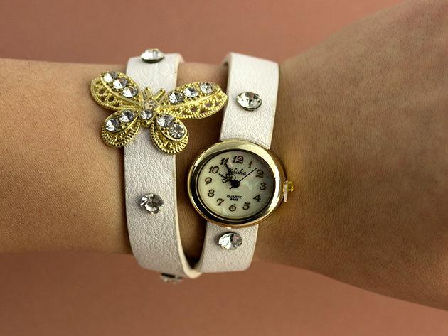 Pillangós karkötős óra