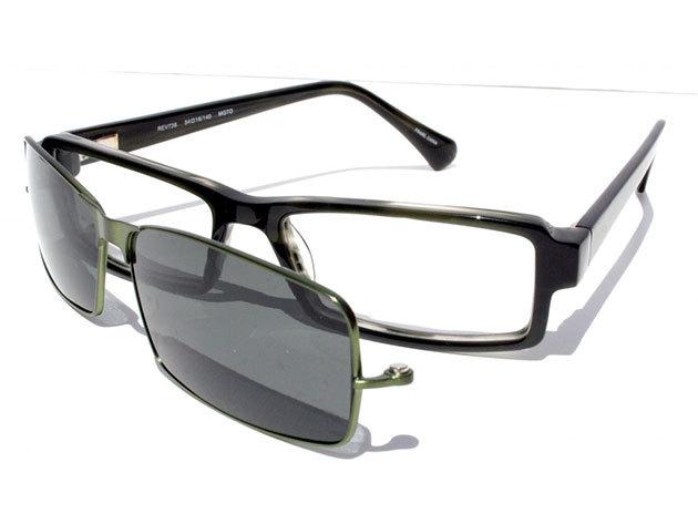 Speciális Clip-on szemüveg