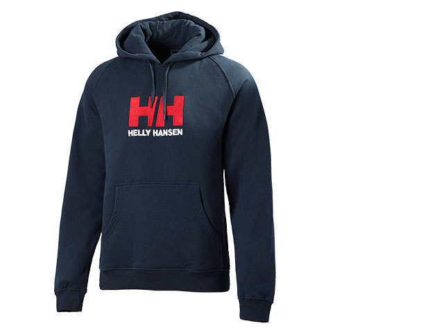 Helly Hansen HH LOGO HOODIE NAVY MELANGE XL (50586_597-XL) - AZONNAL ÁTVEHETŐ