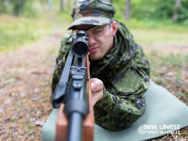 Lövészet különleges fegyverekkel: AK 47, Kolarms, Dragunov, UK59, 9 mm-es pisztoly / oktatással és biztonsági felszereléssel - egyedülálló szabadtéri pályák Ráckevén / Duna Lövész Sportegyesület