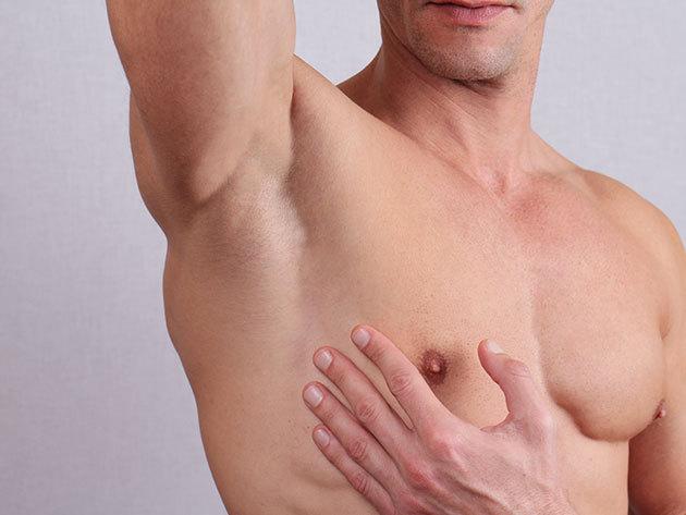5 alkalmas SHR szőrtelenítés Férfiaknak / hónalj