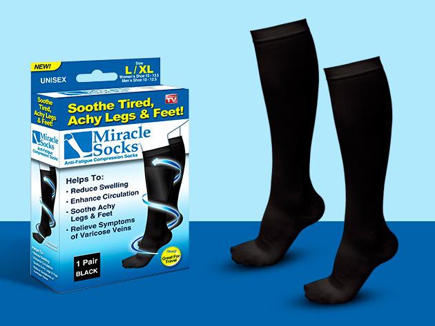 Kompressziós zokni az egészséges lábakért - hasznos hosszú utazások, vagy hosszabb álló munkavégzés során