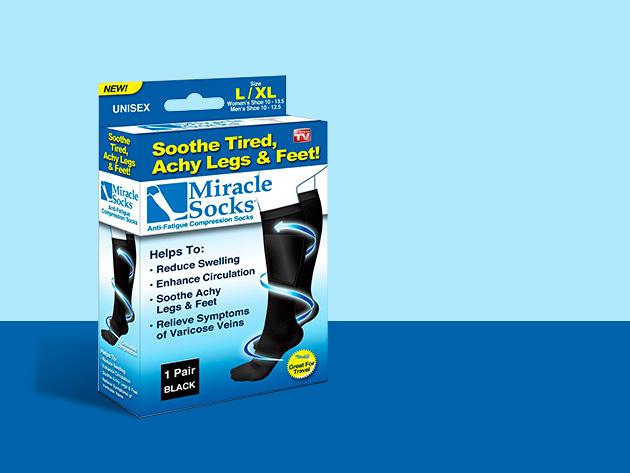 Kompressziós zokni (univerzális méret: 35-44)
