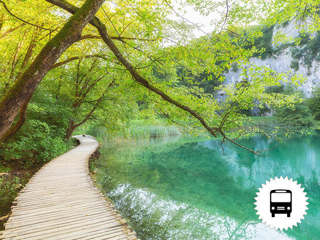 Plitvicei tavak, non-stop buszos utazások - Horvátország legnagyobb nemzeti parkja, 16 tagú tórendszer, 190-200 ámulatba ejtő vízesés / fő