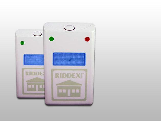 2 db Riddex Plus elektromos rágcsáló- és rovarriasztó