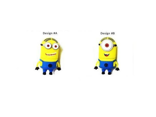 Minion-os 8GB-os USB 2.0 Pendrive (1 db)