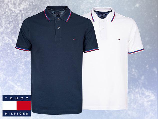 Tommy Hilfiger galléros pólók / slim fit fazon 100% pamutból, M-XXL méretben, sportosan elegáns férfiaknak