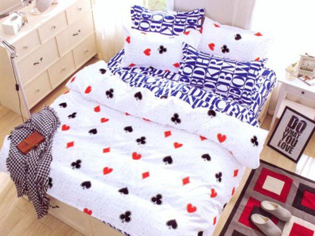 Póker szerelem - 7 részes ágynemű garnitúra