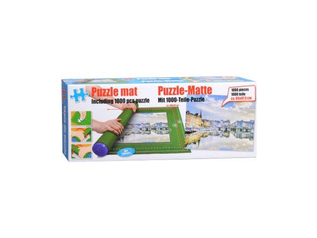 Puzzle szőnyeg ajándék 1000 db-os kirakóssal (Város) IRP-000000935