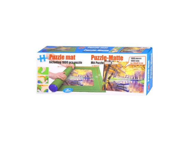 Puzzle szőnyeg ajándék 1000 db-os kirakóssal (Csónak) IRP-000001012