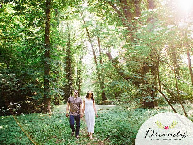 Páros vagy jegyes fotózás: 2 óra romantikázás a szabadban, min. 100 db-os képsorozat teljes utómunkával + 20% kedvezmény az esküvői csomagokra / Ajándékozz élményt!