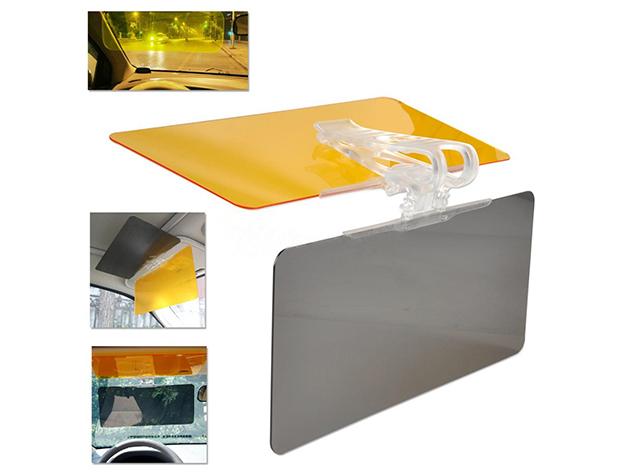 Autós napellenző és fényszűrő 2in1 (HD Vision)