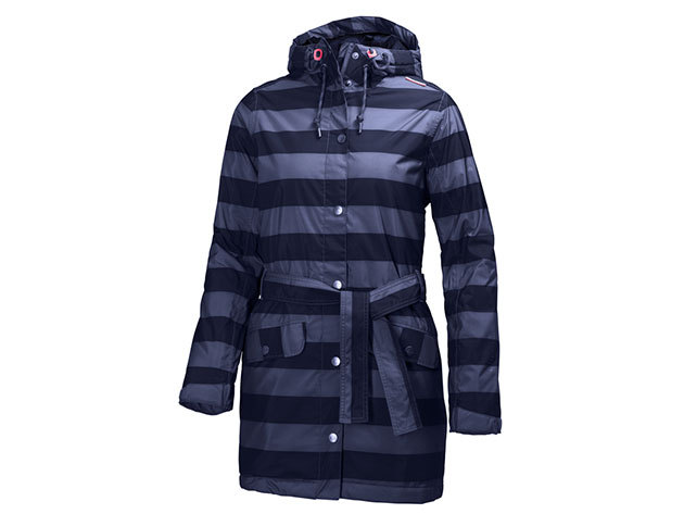 Helly Hansen W LYNESS INSULATED COAT EVENING BLUE DENIM STRIPE XS (62462_690-XS)