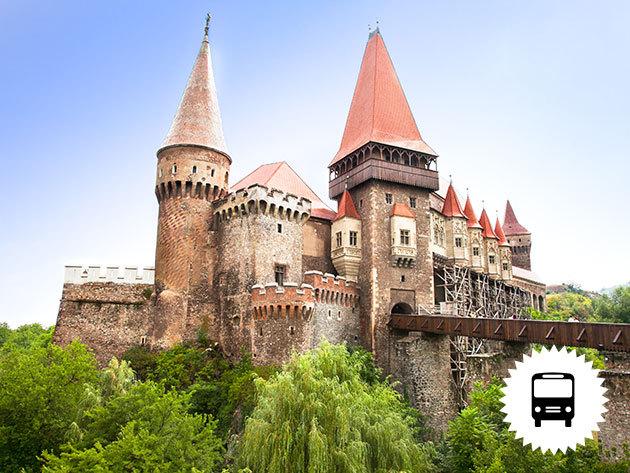 Drakula gróf kastélya (Törcsvár) non-stop buszos kirándulás Erdélybe májusban és júniusban / fő