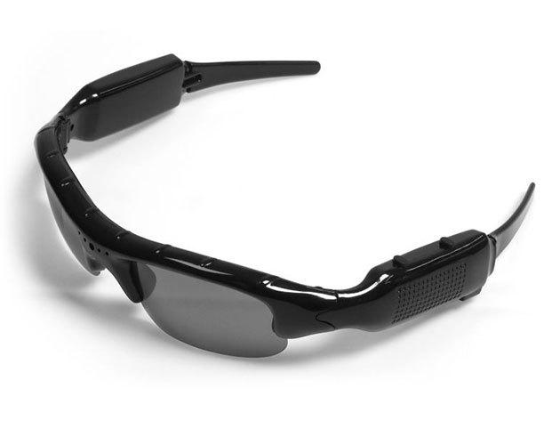 Kamerás szemüveg / napszemüveg, minőségi kép- és videórögzítéssel, USB kábellel és fekete tokkal, nyári vakációk és kirándulások megörökítéséhez