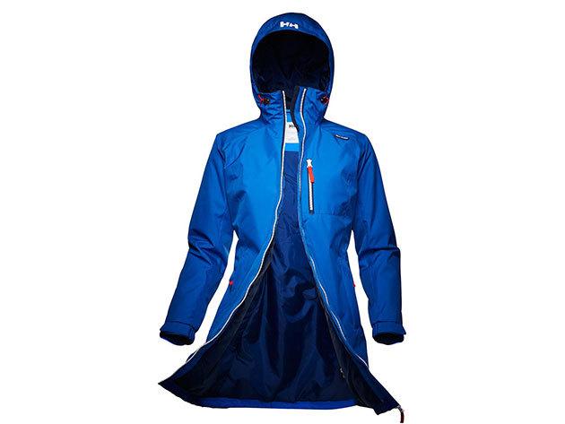 Helly Hansen W LONG BELFAST WINTER JACKET CLASSIC BLUE M (62395_533-M)