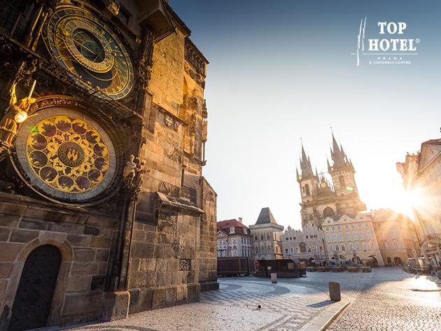 PRÁGA - 3 vagy 4 nap szállás a Top Hotel Praha****-ban 2 fő számára: reggelis ellátás + korlátlan wellness / 1 évig érvényes