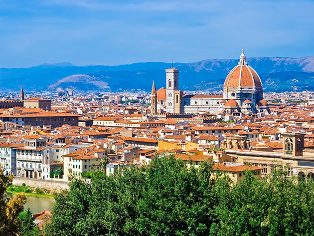 Firenze városlátogatás 4nap/3éj 2 főnek, repjeggyel, 4*os szállodában, reggelis ellátással - 2017 Július