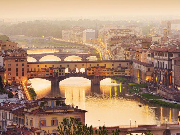 Firenze városlátogatás 4nap/3éj 2 főnek, repjeggyel, 4*os szállodában, reggelis ellátással - 2017 Augusztus