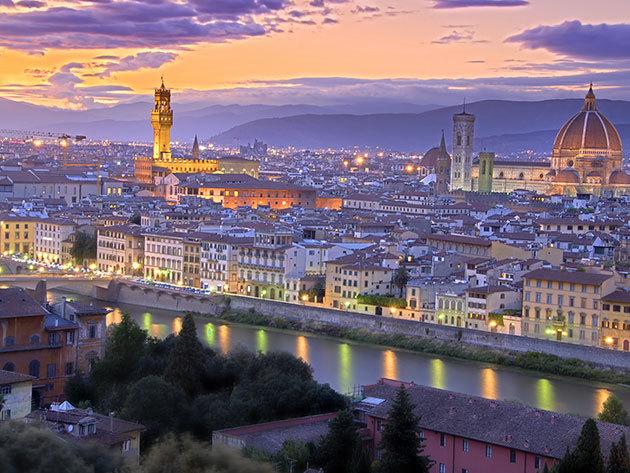 Firenze városlátogatás 4nap/3éj 2 főnek, repjeggyel, 4*os szállodában, reggelis ellátással - 2017 Szeptember