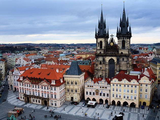 2017.09.15. / Egy csepp Prága! Non-stop utazás autóbusszal! /fő