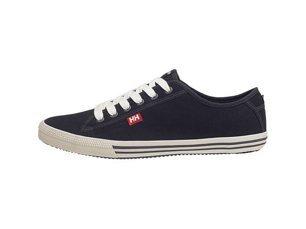 Helly Hansen FJORD CANVAS BLACK / OFF WHITE / BIRCH EU 44.5/US 10.5 (10772_990-10.5)