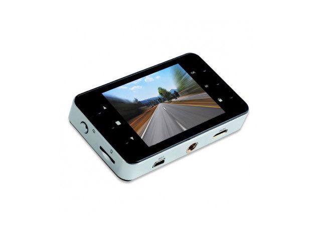 Slim fekete autós kamera