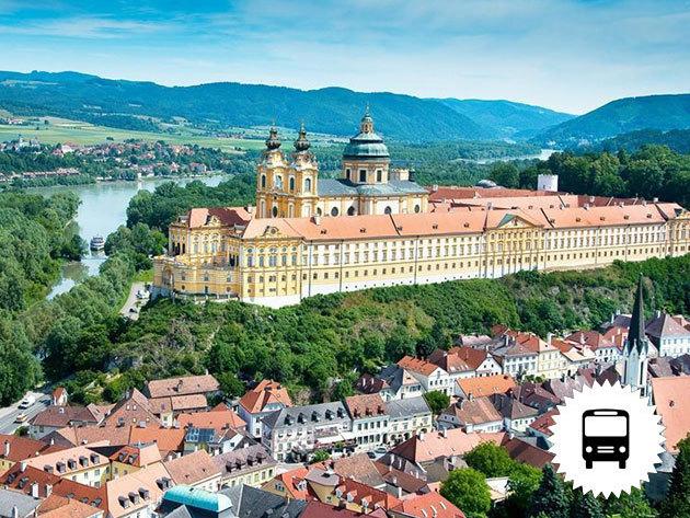 Ausztria! 1 napos buszozás és hajózás Wachau vidéken, az UNESCO Világörökség részén (WACHAU, ARTSTETTEN ÉS MELK) - 5 időpont tavasztól őszig