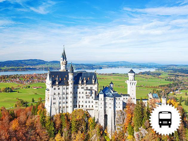 A németországi Neuschwanstein kastély (a világhírű tündérmesék palotája), a csodaszép Salzburg és Berchtesgaden (Sasfészek) - buszos kirándulás 1 éjszaka szállással és reggelivel júniusban, szeptemberben és októberben /fő