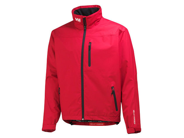 Helly Hansen CREW JACKET RED XS (30263_162-XS)