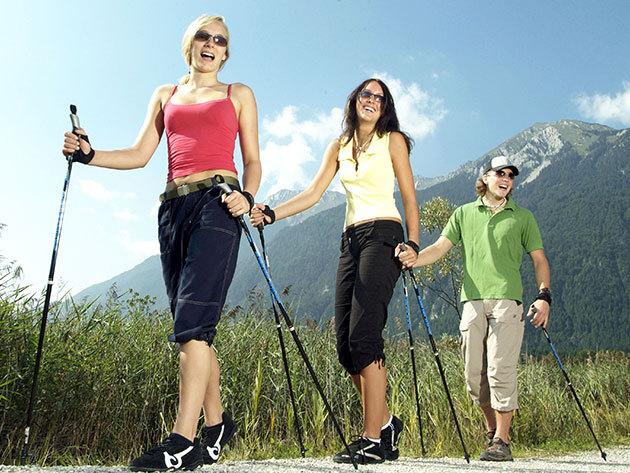 Nordic Walking bot (1 pár ) - fejleszd állóképességed a különleges gyaloglótechnikával hatékonyan, kíméletesen