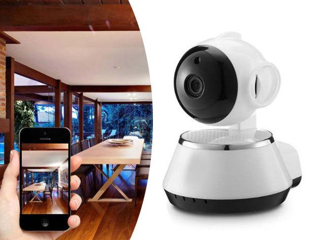 WIFI IP smart net kamera - mobilról és PC-ről egyaránt nézhető / a távolból is szemmel tarthatod otthonod és értékeidet