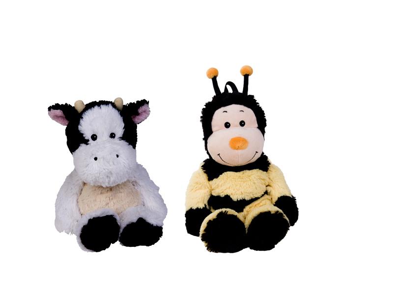 Hűthető, melegíthető pluss állatok (boci és méhecske)