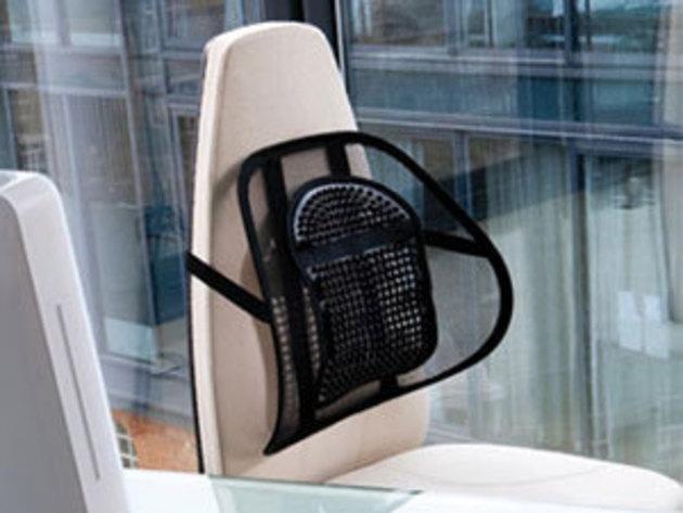 Ergonomikus háttámla masszírozó golyókkal autóülésbe és irodai székekhez - előzd meg a hátfájást!