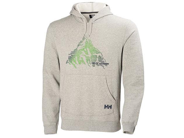 Helly Hansen JOTUN HOODIE GREY MELANGE L (54304_949-L) - AZONNAL ÁTVEHETŐ