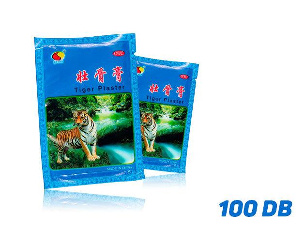 Tigris tapasz (50 csomag) 2 pár/csomag - összesen 100 db