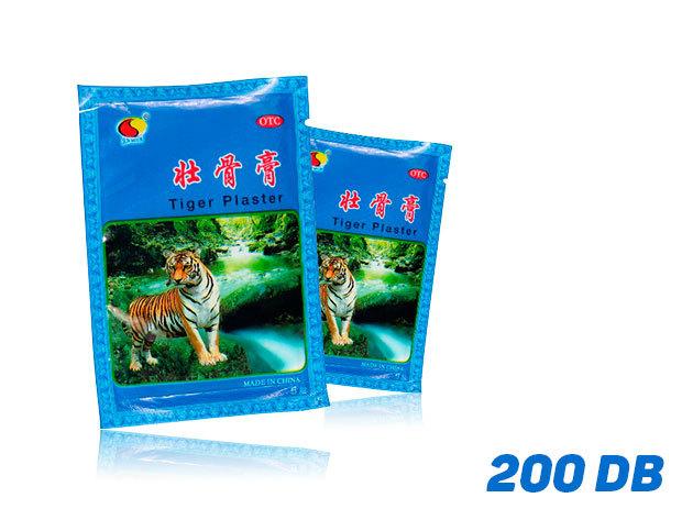 Tigris tapasz (100 csomag) 2 pár/csomag - összesen 200 db