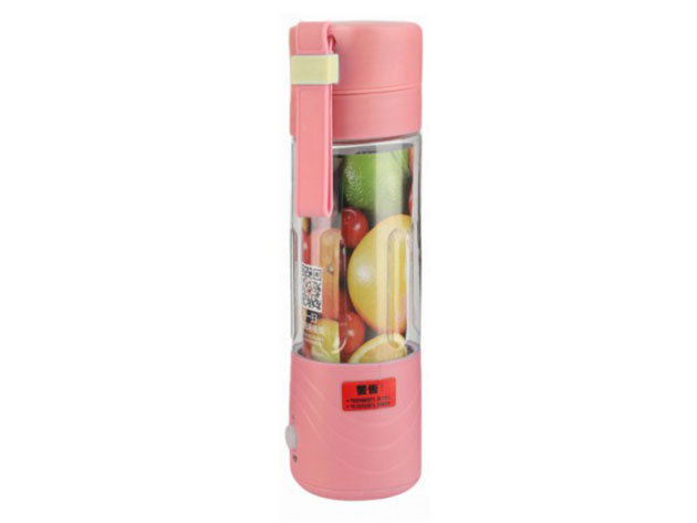 Akkus Shaker és Juice készítő - pink