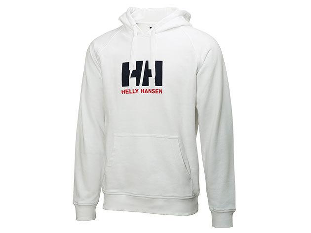 Helly Hansen HH LOGO SUMMER HOODIE WHITE XL (54155_001-XL) - AZONNAL ÁTVEHETŐ