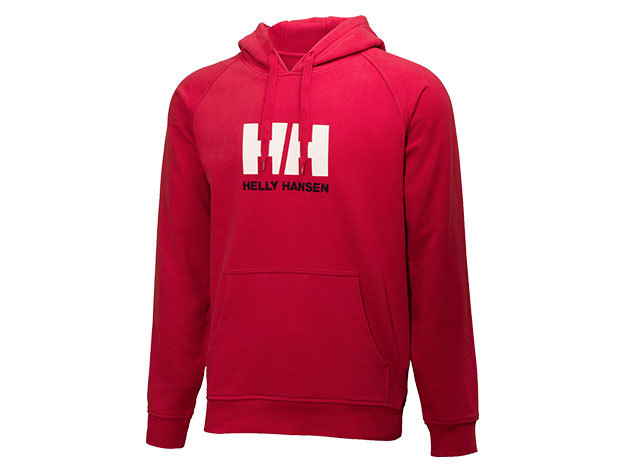 Helly Hansen HH LOGO SUMMER HOODIE RED L (54155_162-L)