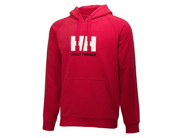 Helly Hansen HH LOGO SUMMER HOODIE RED M (54155_162-M)