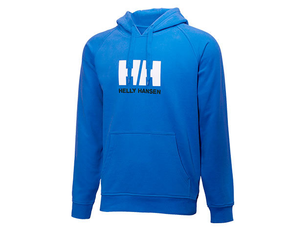 Helly Hansen HH LOGO SUMMER HOODIE RACER BLUE L (54155_535-L)