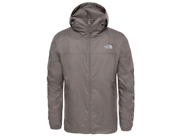 The North Face NJ FLYWEIGHT HOODIE JACKET FALCON BROWN - T92TWJNXL - L (AZONNAL ÁTVEHETŐ)