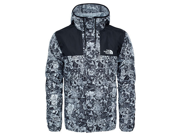 The North Face Mountain Jacket Tnf White/ Tnf Black - T0CH37QUN - L (AZONNAL ÁTVEHETŐ)