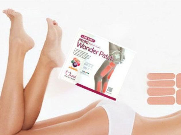 Combfeszesítő, zsírégető tapasz - 3 szett Wonder Patch