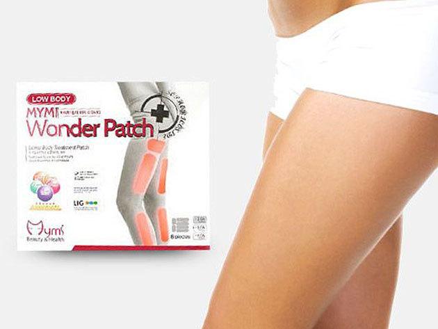 Csodatapasz a combokra zsírégető és feszesítő hatással - 3 szett Wonder Patch, gyógynövények erejével