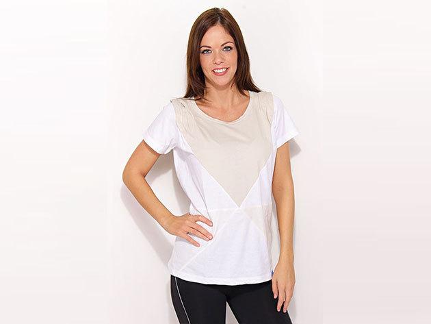 Adidas Cut Sewn Tee - női fehér póló - P99997-38