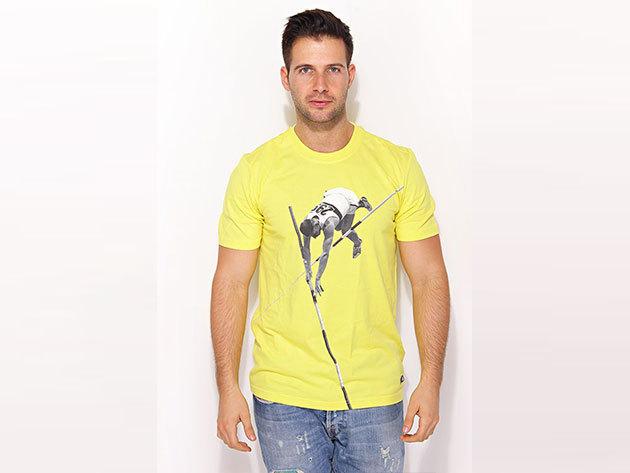 Adidas Adi Tee2 - sárga férfi póló - X44781-S