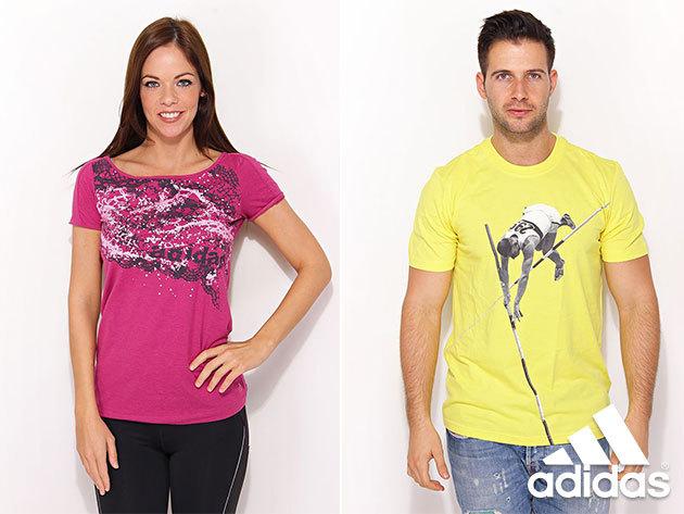 Adidas női (34-44) és férfi (S-L) pólók változatos fazonban, szabadidős tevékenységekhez